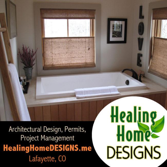 Healing Home DESIGNS promo