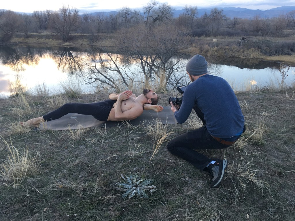 "Jesse shoots Ty Landrum ""Chasing the Sun"""