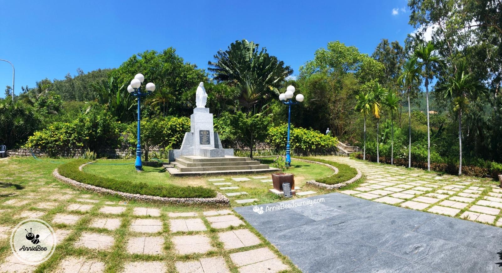 Han Mac Tu Tomb in Ghenh Rang, Quy Nhon, Vietnam
