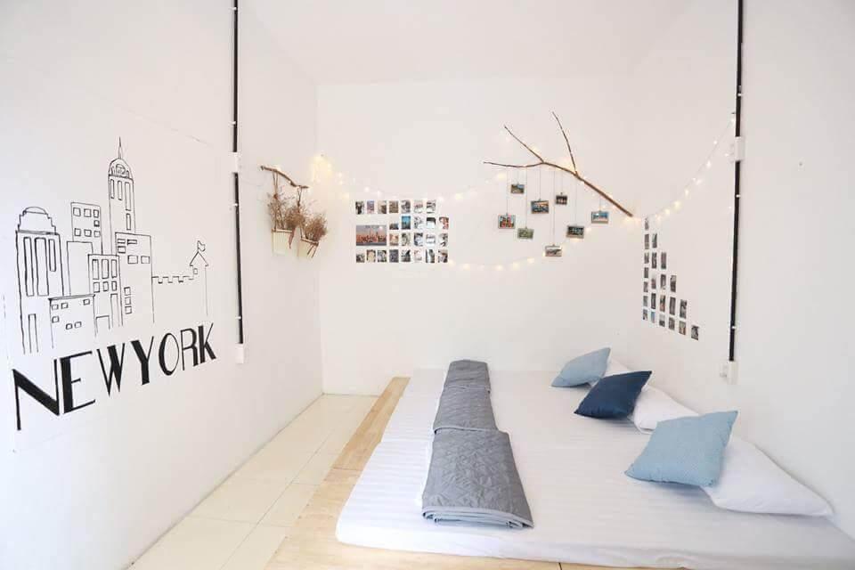 Room decoration at Oh Homestay in Quy Nhon, Vietnam