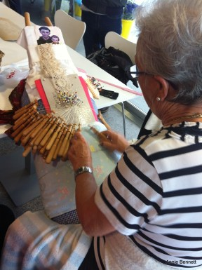 Palilleira - lacemaker in Camelle