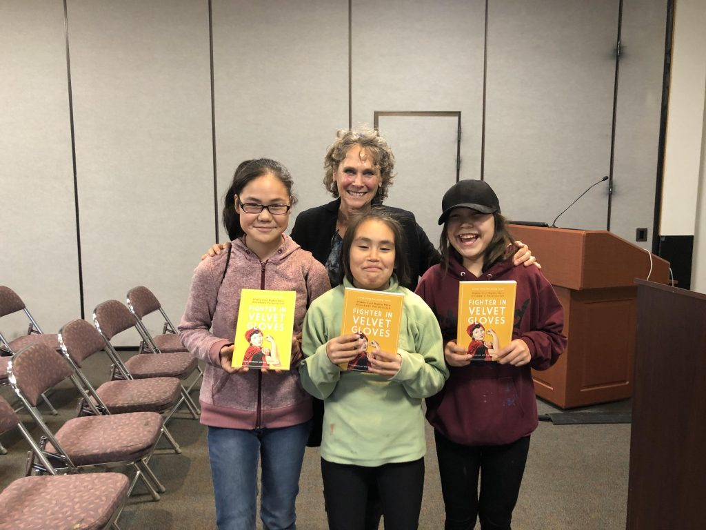 Young aspiring writers and story lovers from Bethel!