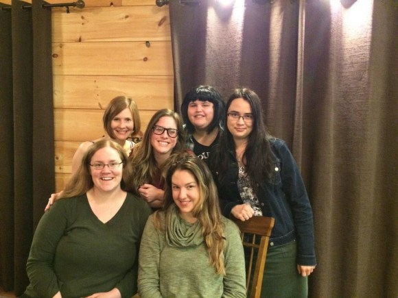 Most of the Hanging Gardens team! Photo from Rosamund Hodge