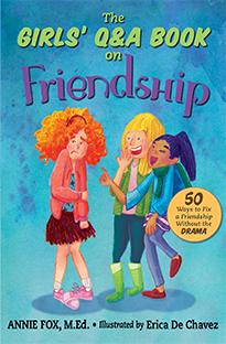 Annie Fox - Books - The Girls Q&A Book on Friendship ...