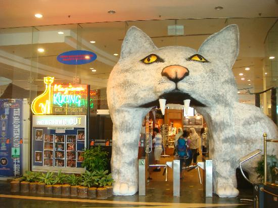 entrance kuching museum