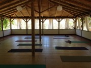 Yoga at Huzur Vadisi.