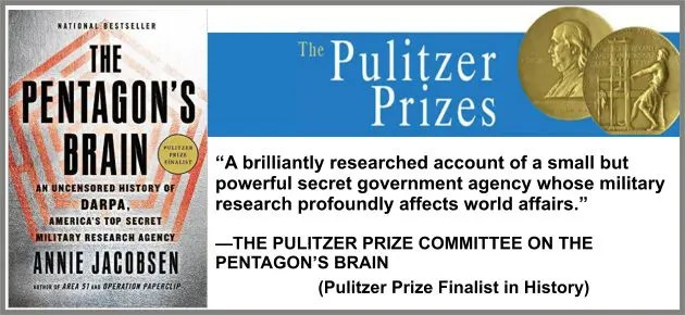 pentagons brain the pulitzer prizes