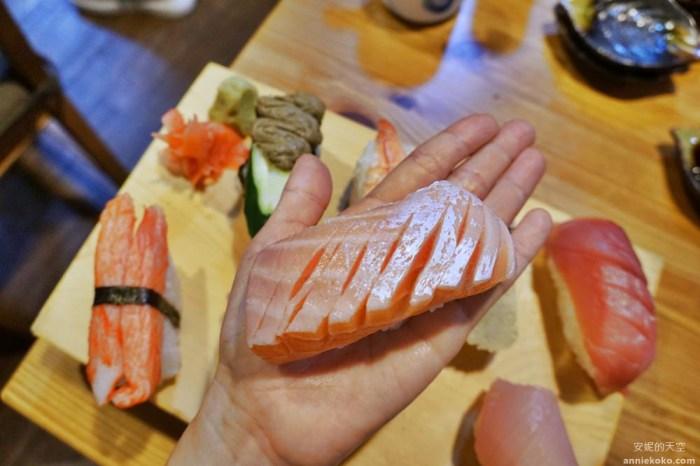 板橋美食 坐一下吧溫暖小酒館 超強巨人國握壽司 沒排個一小時是吃不到的喔
