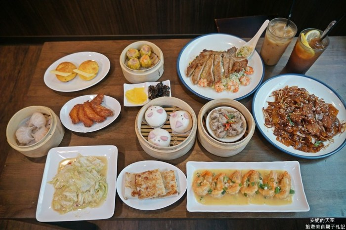 [ 新莊美食 旺角飲茶]充滿香港風味餐點 一秒走進香港街道 大推豬扒炒飯 甜點也很深得我心