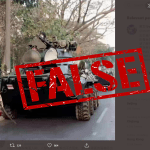 False: This photo of alleged Myanmar 'tank woman' is digitally manipulated