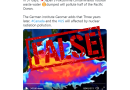 False: This simulation video does not show Japan's treated water from Fukushima 'polluting half of the Pacific ocean in 57 days'