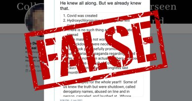 Analysis: None of the eight claims about Fauci's emails revealing COVID-19 'secrets' is accurate