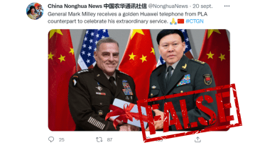 Screenshot of the tweet and the manipulated image