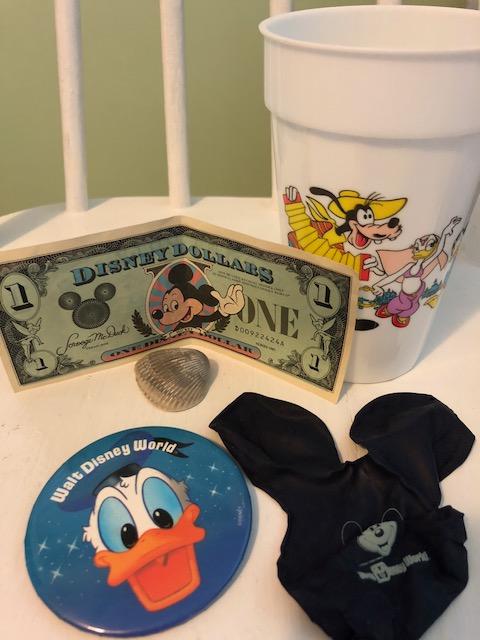 1980s Walt Disney Co. souvenirs
