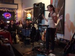 Looping at Luna's in Sacramento, California