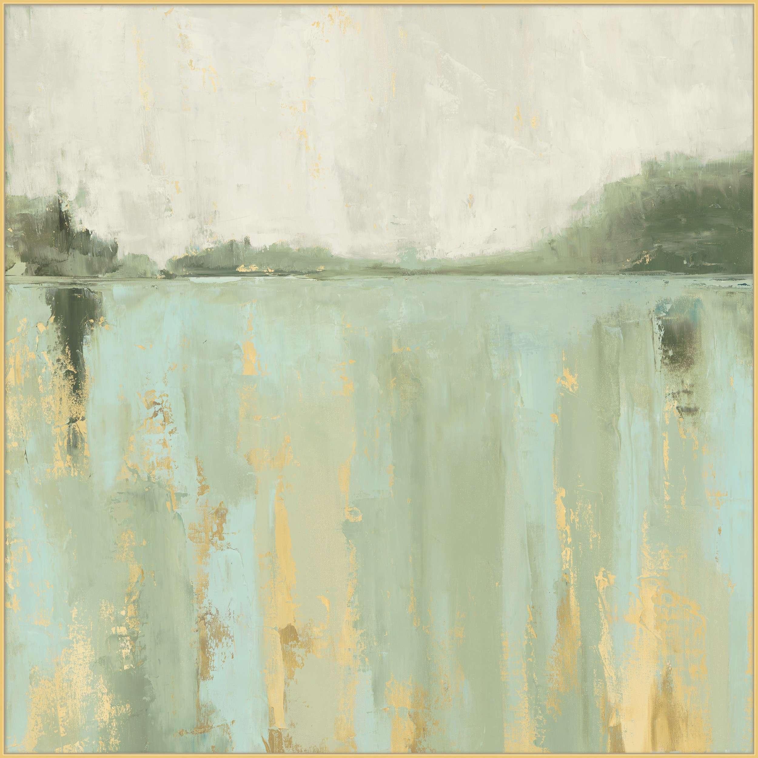 Abstract Lake Art Furniture