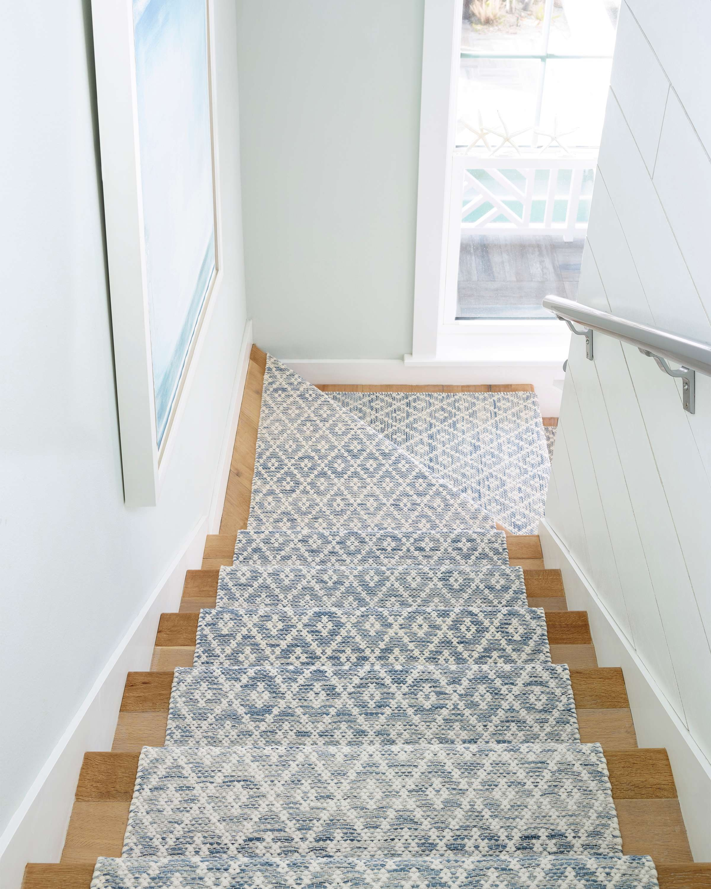 How To Choose A Stair Runner Rug Annie Selke   Durable Carpet For Stairs   Straight   Trendy   Different Style Stair   Hallway   Stair Residential