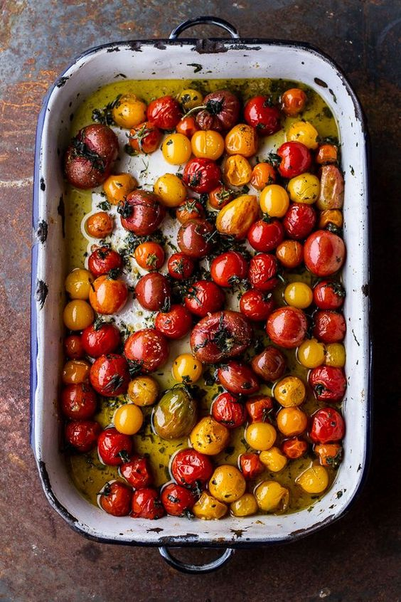 Baked Cherry Tomatoes