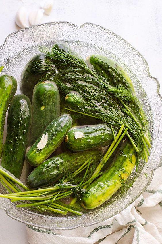 Pickled Gherkins - Annie's Farm