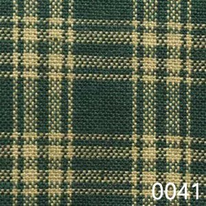 Green Tea Dyed Catawba Check Plaid Homespun Fabric