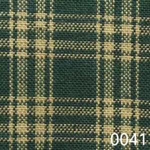 Green Tea Dyed Catawba Check Plaid Homespun Fabric