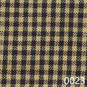 Navy Tea Dyed Mini Check Plaid Homespun Fabric
