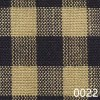 Navy Tea Dye Small Check Plaid Homespun Fabric 0022