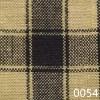 Black Tea Dyed Housecheck Plaid Homespun Fabric
