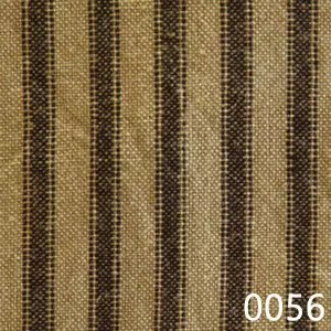 Black Tea Dyed Ticking Plaid Homespun Fabric