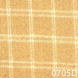 Gold Cream Plaid Homespun Fabric