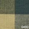 Green Tea Dyed Buffalo Check Plaid Homespun Fabric