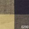 Navy Tea Dyed Buffalo Check Plaid Homespun Fabric