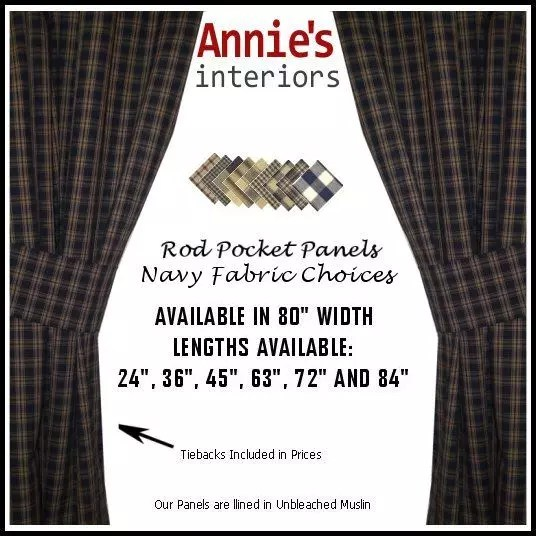 ROD-POCKET-PANEL-CURTAINS-NAVY-FABRICS