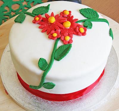 Lemon and Raspberry Curd Cake