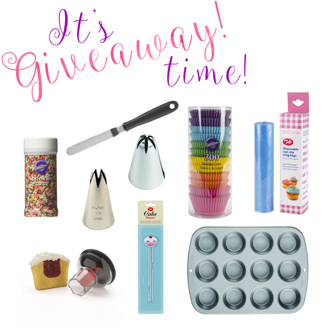 Celebrating Annie's Noms 4th birthday with a giveaway of my favourite cupcake making tools!