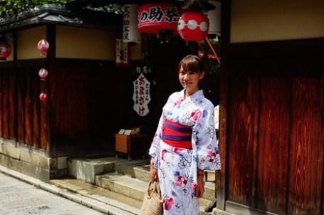 [京都]  てくてく京都 烏丸店 浴衣初體驗