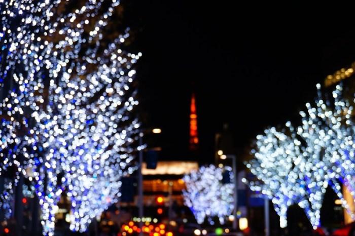 [東京] 六本木 Roppongi Hills けやき坂通り 耶誕點燈