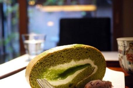 [京都] 丸久小山園 茶房元庵 – 令人驚豔的抹茶捲