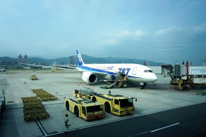 [日本] ANA全日空 夢幻客機787 松山-羽田NH854 商務艙初體驗