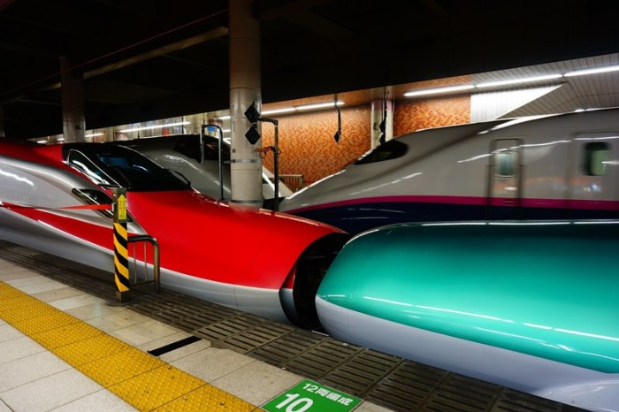 [鐵道] 秋田新幹線 E6系こまち & 長野新幹線 E7系あさま