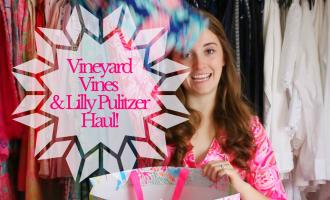 Vineyard Vines & Lilly Pulitzer Haul!
