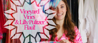 Vineyard Vines & Lilly Pulitzer Haul!