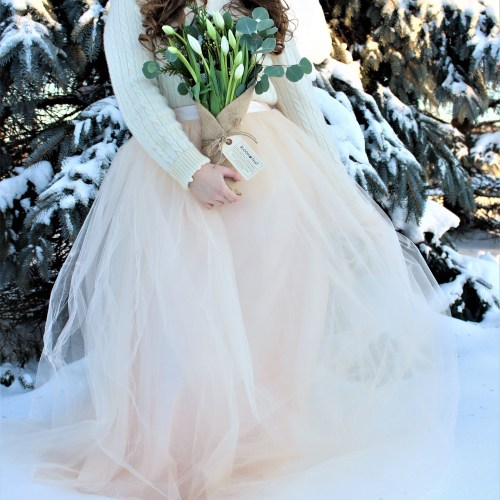 Winter Blooms & Tulle