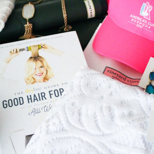 New Year Haul: DryBar, Vineyard Vines, Lilly Pulitzer, Loren Hope & More
