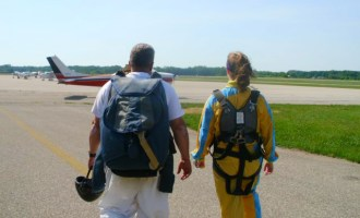 My First Skydiving Experience!