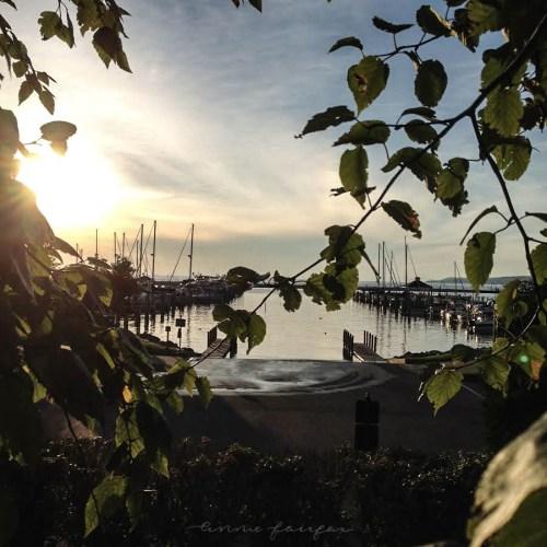 Harbor Springs, MI Marina Photographed by Annie Fairfax