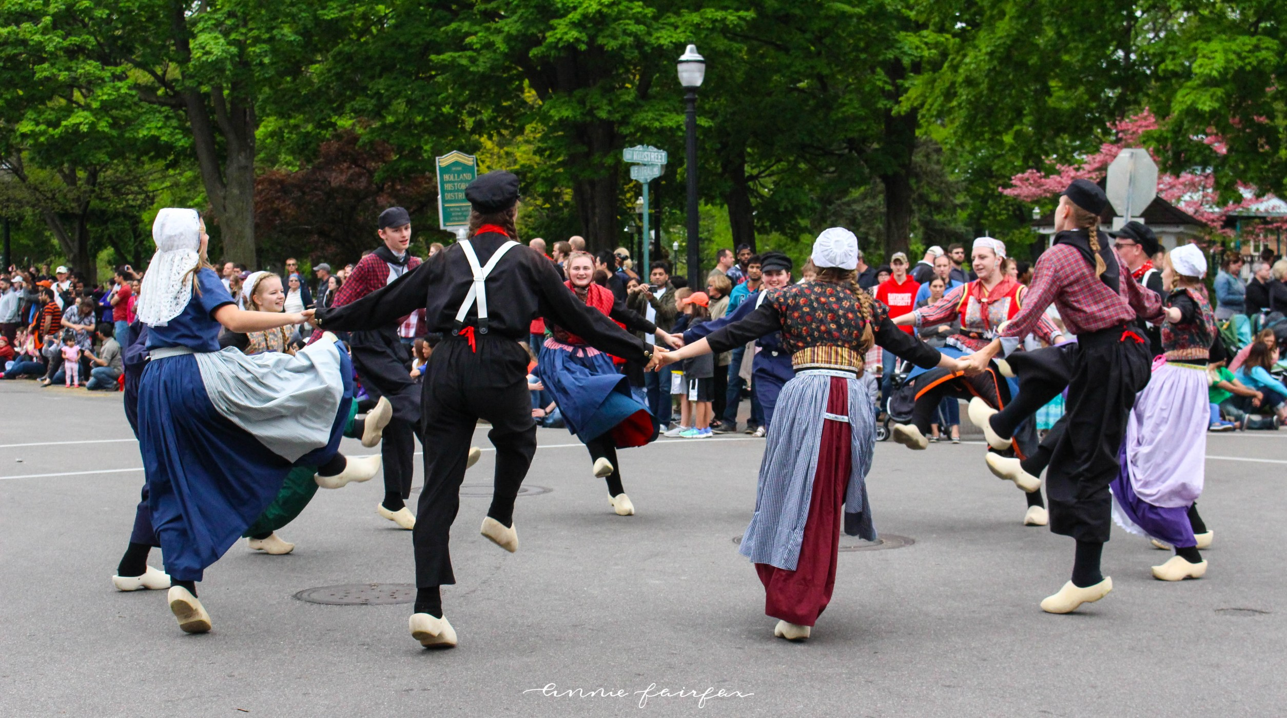 Tulip Time Festival in Holland Mi Dutch Dancers