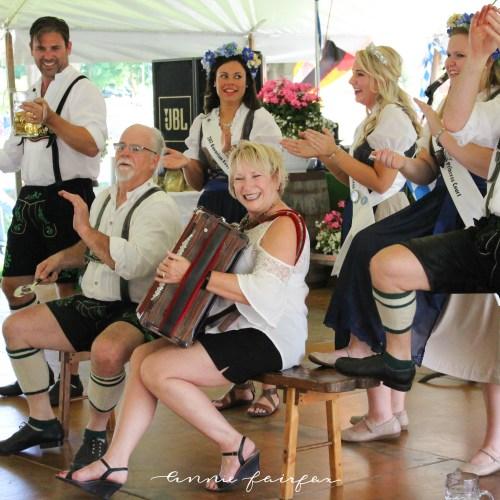 Frankenmuth Bavarian Festival Michigan Tourism German Lederhosen Dirndl Dress Polka Riot