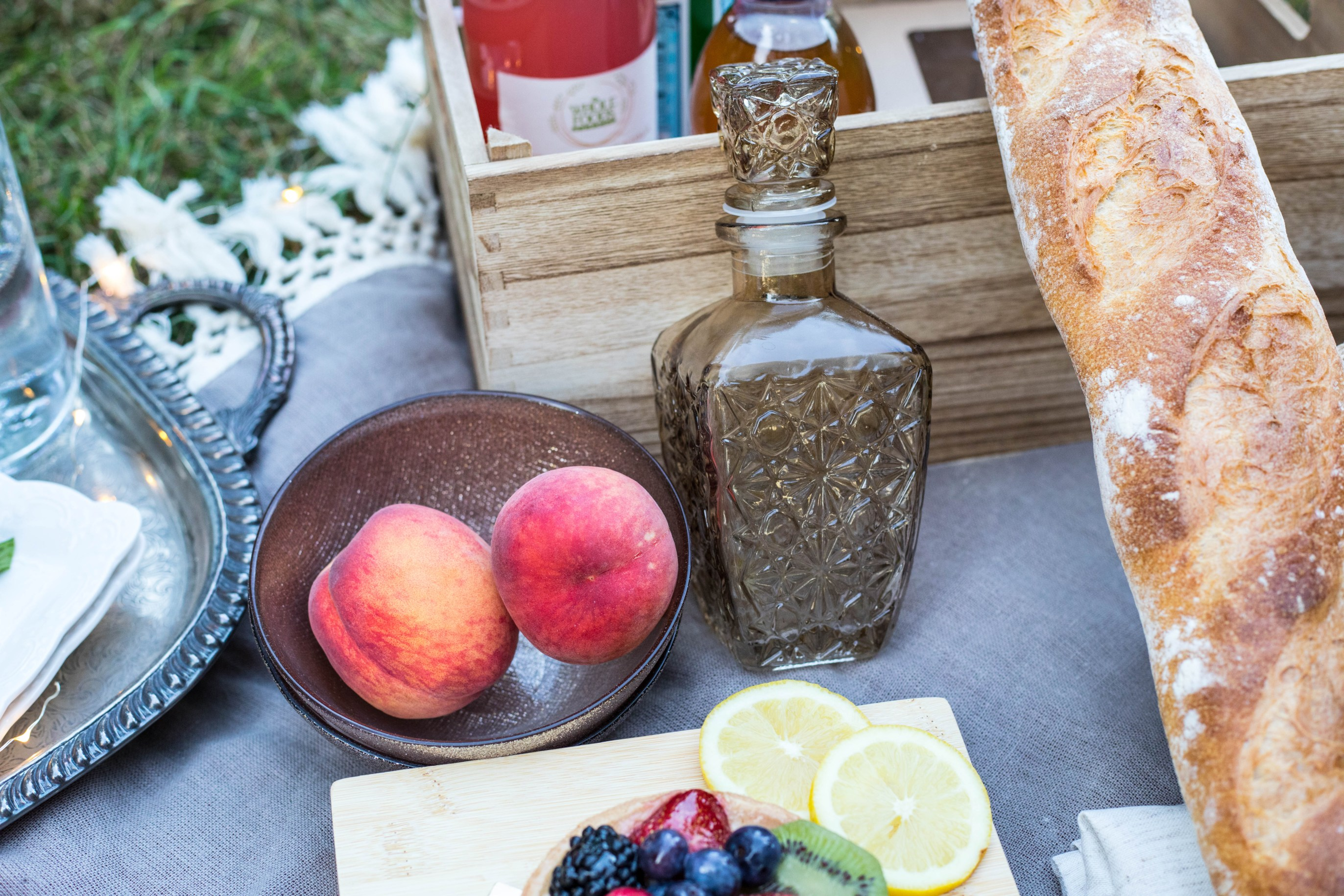 Perfect Summer Picnic inspiration ideas Anniversary Ideas Whole Foods Vegan Summertime Dusk Annie Fairfax AnnieWearsIt