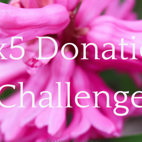 5×5 Donation Challenge – Giving Back to Our Communities